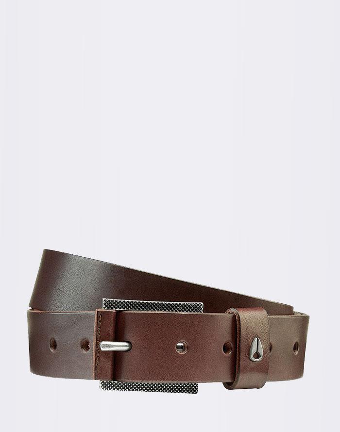 Nixon Americana Slim Belt II Dark Brown S