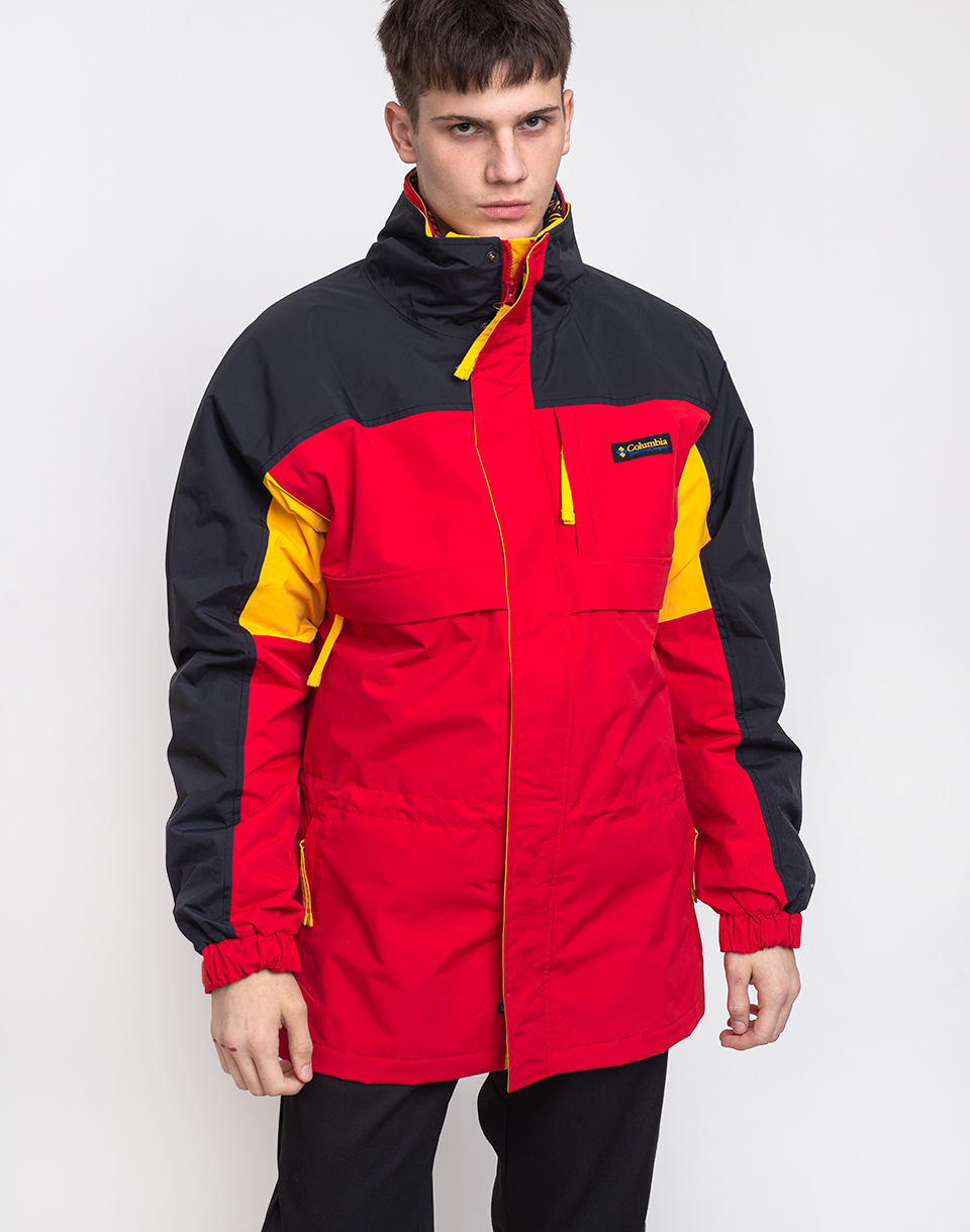 Columbia Gizzmo Interchange Parka 613 Mountain Red, Black M