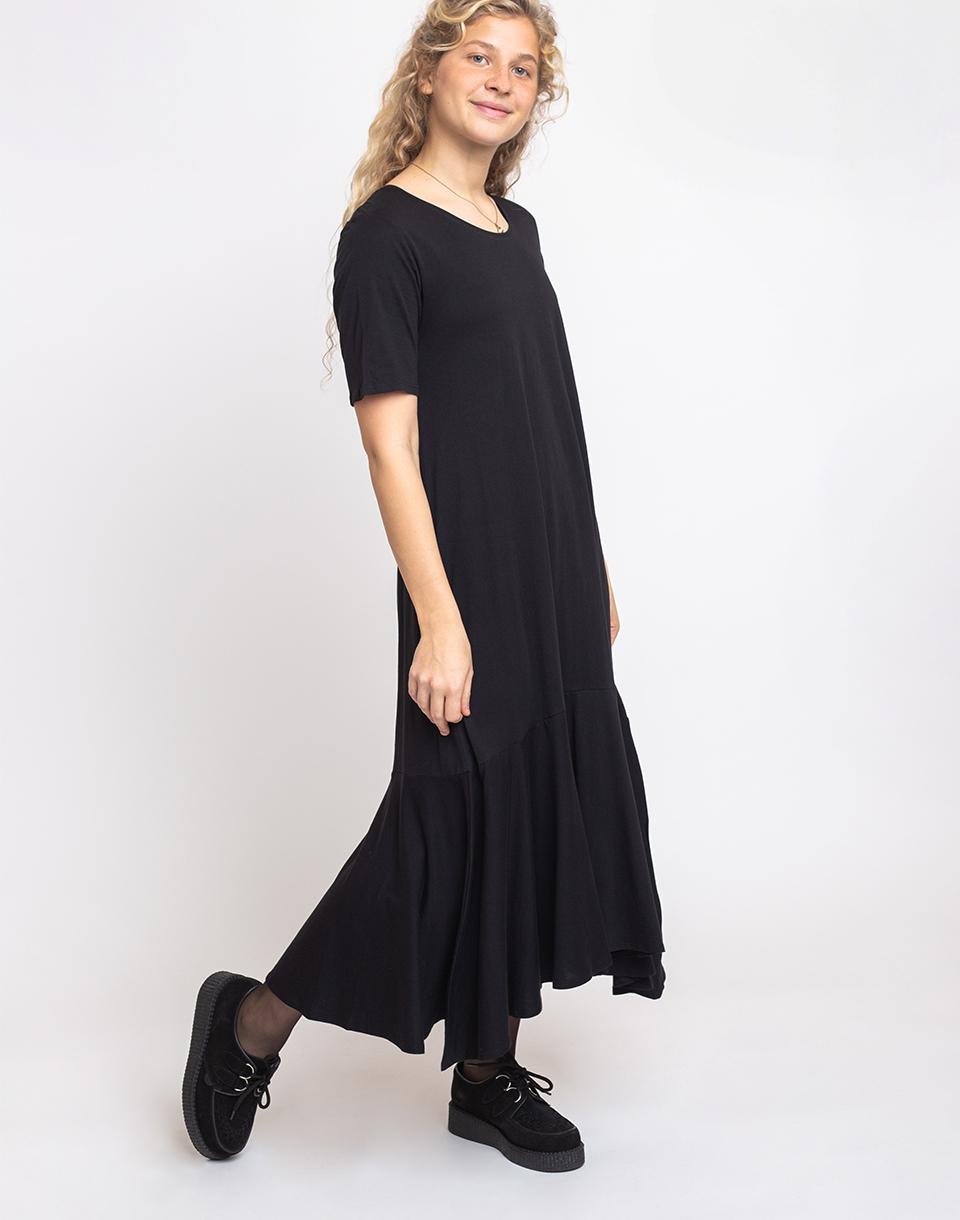 Kowtow Flare Hem Dress Black XS