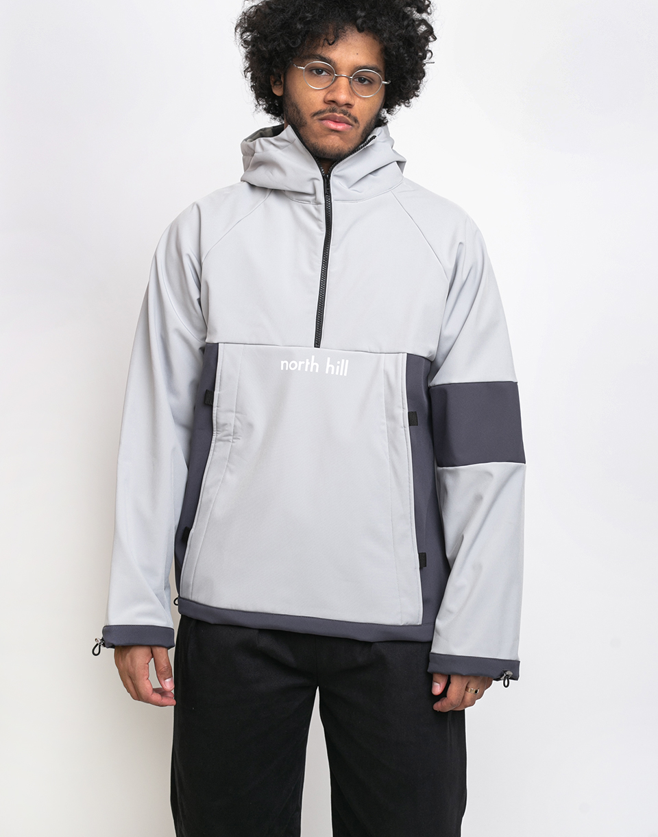 North Hill Grey Anorak Grey XL