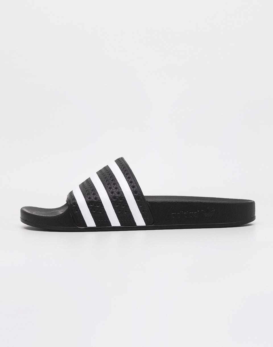 adidas Originals Adilette Black1 / White / Black1 43