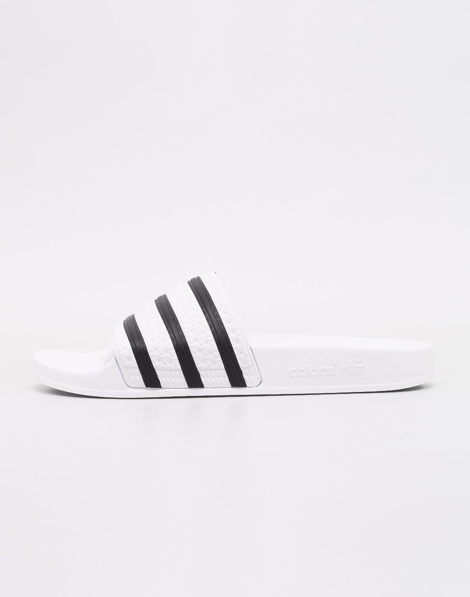 adidas Originals Adilette White / Core Black / White 43