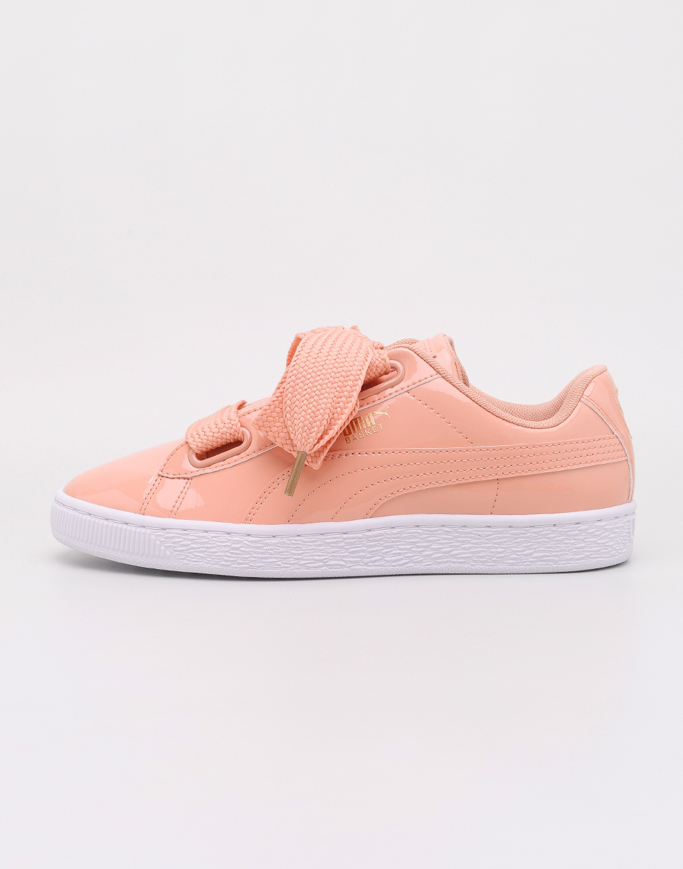 Puma Basket Heart Patent Dusty Coral-Dusty Coral 37