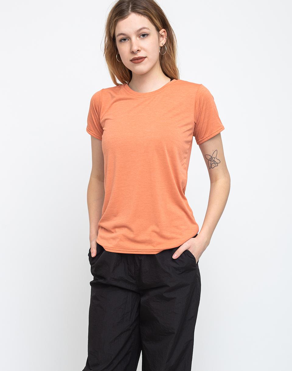 Patagonia W's Cap Cool Daily Shirt Mellow Melon - Light Mellow Melon X-Dye M