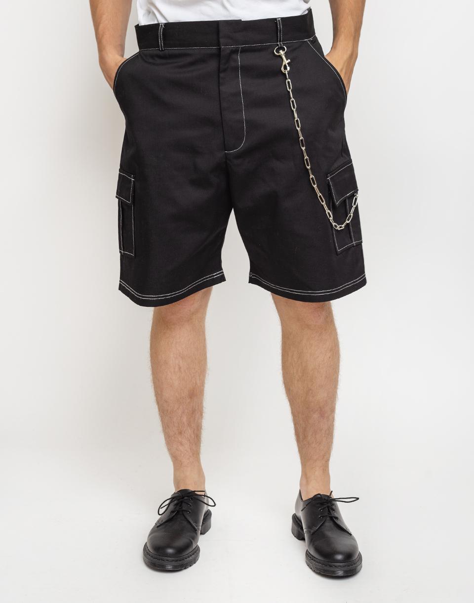 The Ragged Priest Combat Shorts Black 30