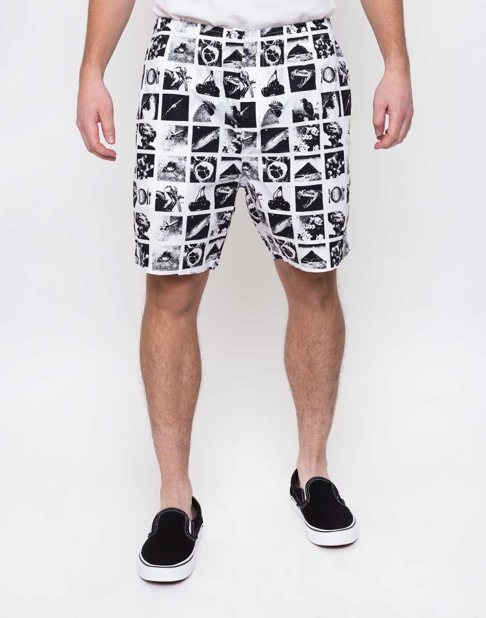 Obey Easy Chaos Short Zine White M