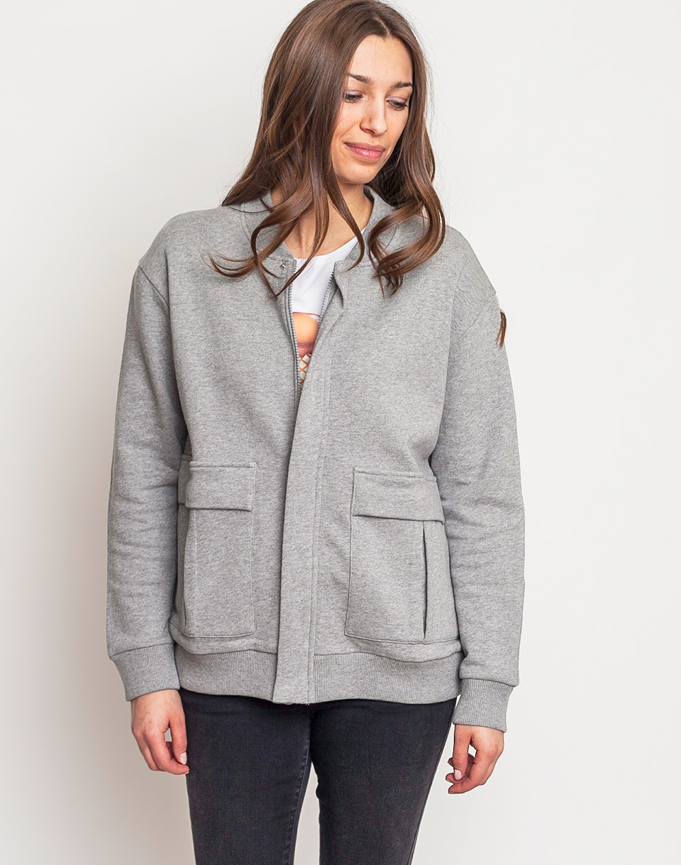 WeSC Greeata Fleece Grey Melange L