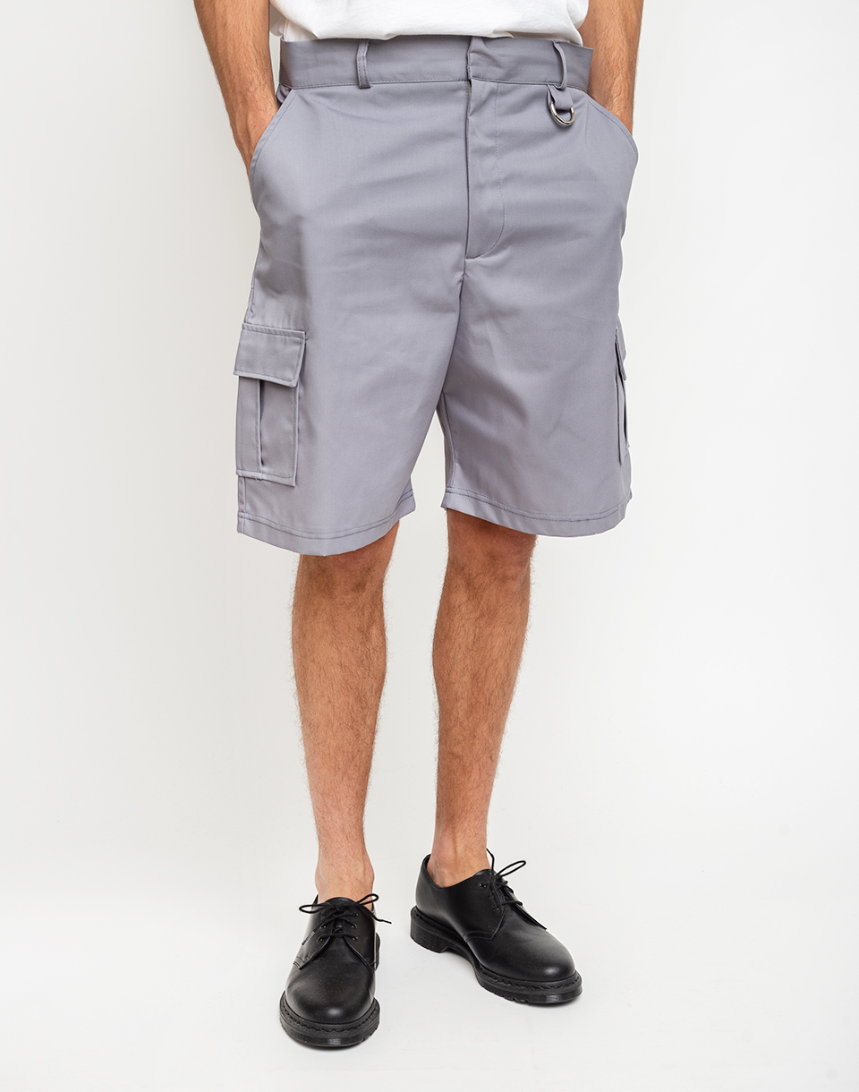 The Ragged Priest Combat Shorts Light Grey 30