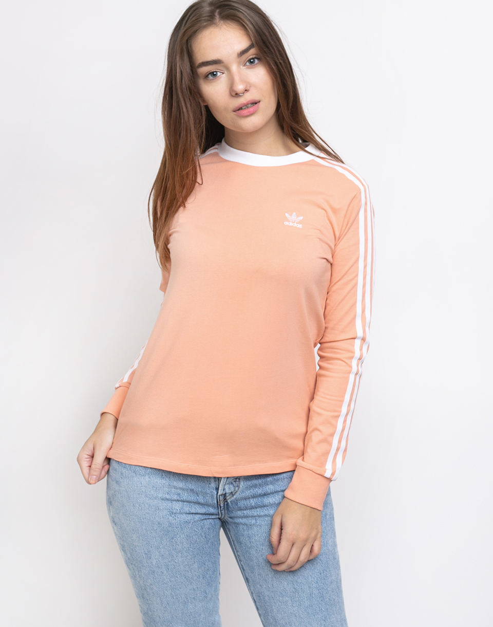 adidas Originals 3 Str Ls Tee Dust Pink 34