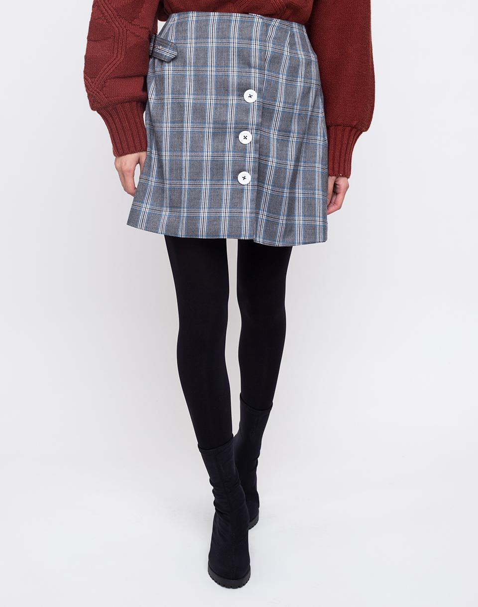 House of Sunny Heritage Kilt Skirt Academic Check 36