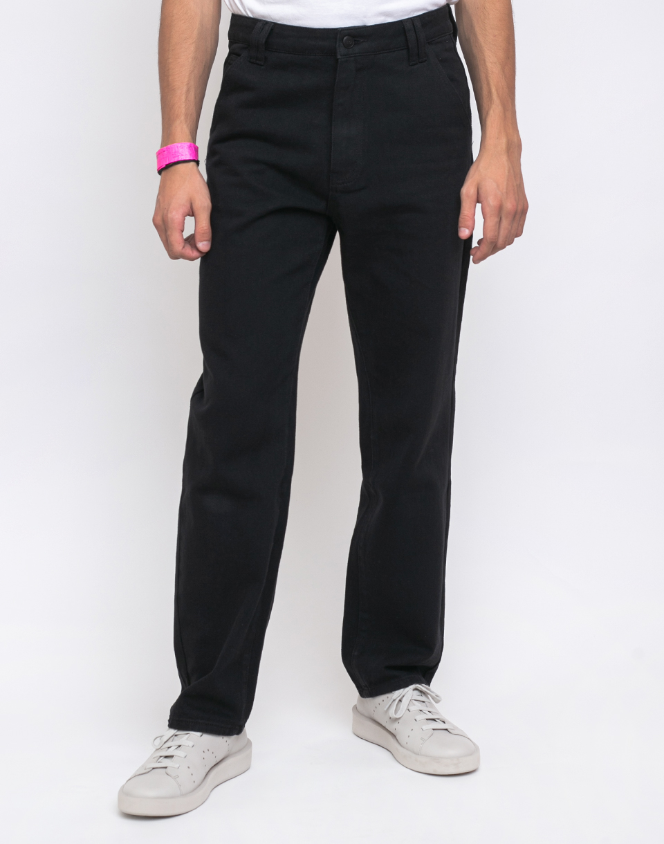 Lazy Oaf Straight Fit Pant Black 32