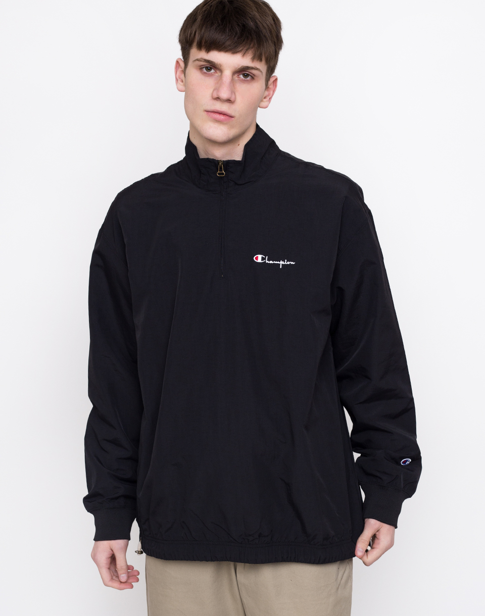 Champion Half Zip Top Black L