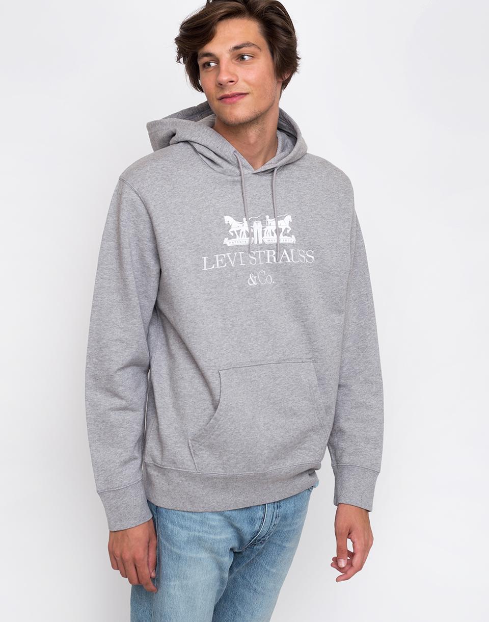 Levi's® Graphic Po Hoodie Grey S