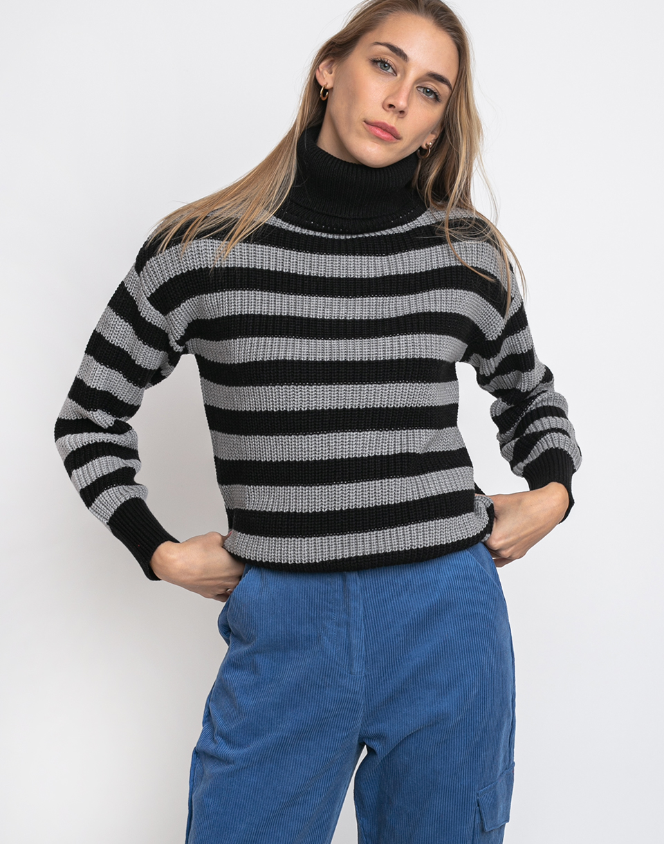Wemoto Finja Stripe Black-Grey S