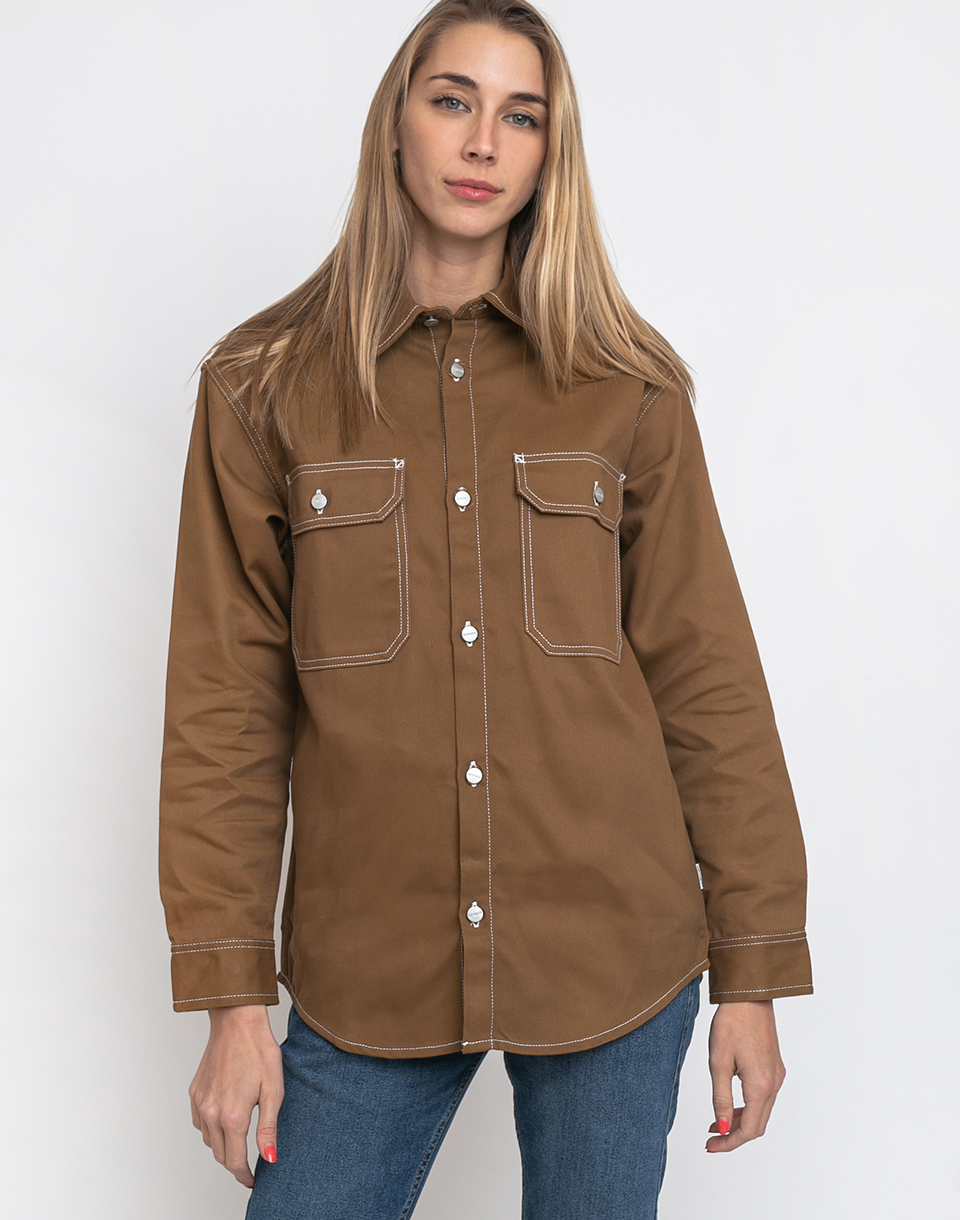 Carhartt WIP Great Master Shirt Hamilton Brown S