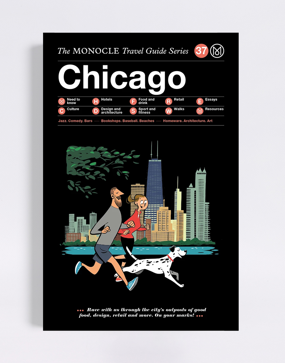 Gestalten Chicago: The Monocle Travel Guide Series