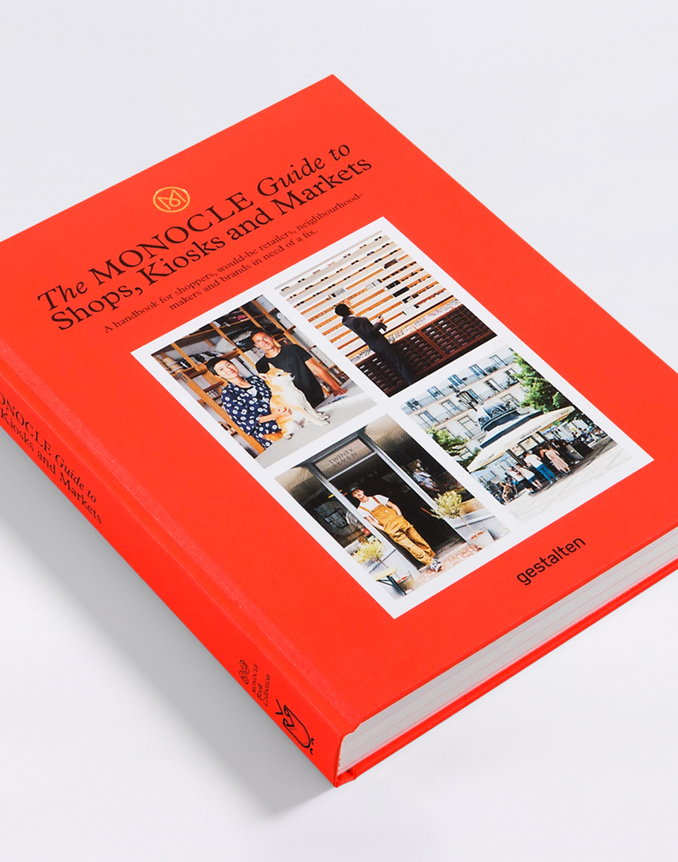 Gestalten Monocle Guide to Shops, Kiosks and Markets