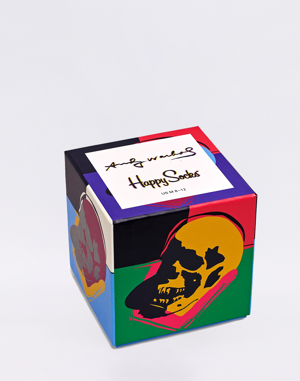 Happy Socks Andy Warhol Gift Box XAWSKU08-9000 41-46