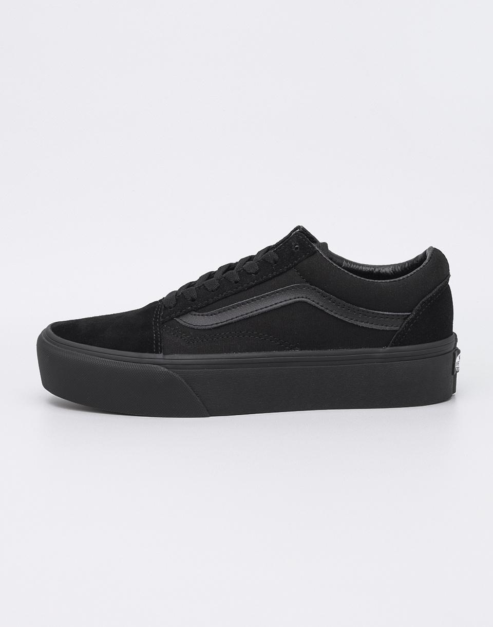 Vans Old Skool Platform Black/ Black 37