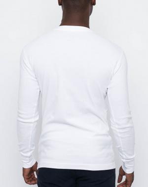 Tričko - Knowledge Cotton - Rib Knit Henley