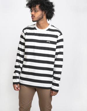 Mikina - Stüssy - Printed Stripe LS Crew