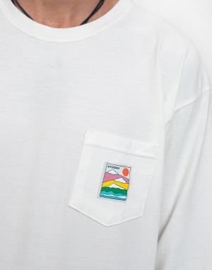 Stüssy - Sierra Pig. Dyed Pkt LS Tee
