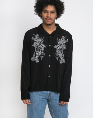 Stüssy - Emb. Dragon LS Shirt