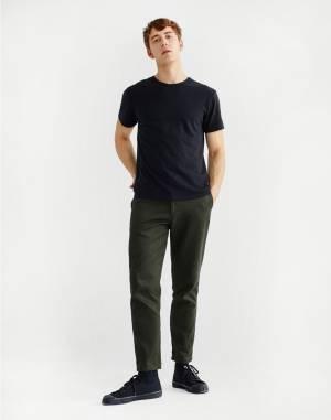Tričko Thinking MU Basic Black Hemp T-Shirt