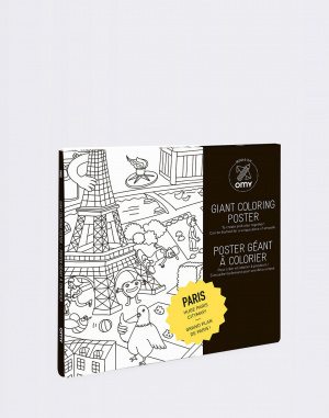 OMY - COLORING POSTER - PARIS