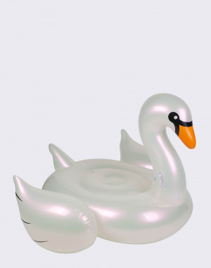 Sunnylife - Luxe Ride-On Float Pearl Swan