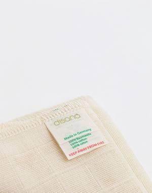Kozmetika Aeos Organic Muslin Face Cloth