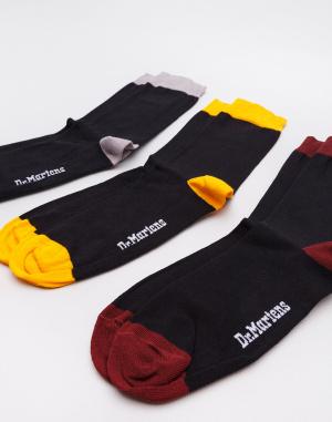 Ponožky Dr. Martens Multipack Sock