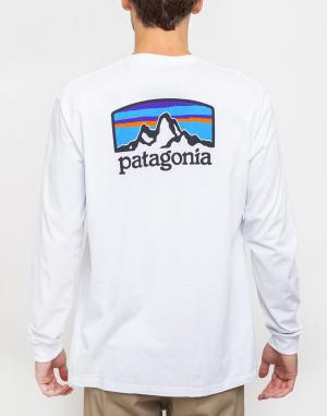 Tričko - Patagonia - L/S Fitz Roy Horizons Responsibili-Tee