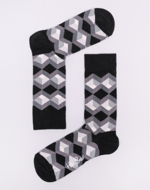 Darčekový set Happy Socks Black And White Gift Box