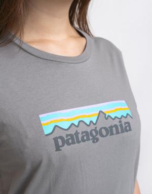 Patagonia - Pastel P-6 Logo Organic Crew T-Shirt