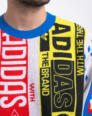 adidas Originals - Scarf Knit Crew