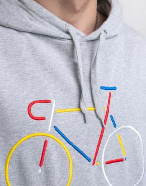 Dedicated - Hoodie Falun Color Bike