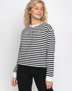 Levi's® - Graphic Long Sleeve Tee Stripe