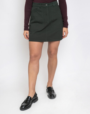 Thinking MU - Green Marsha Short Skirt