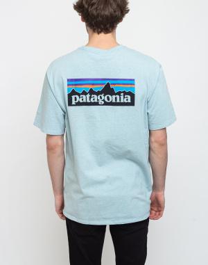 Tričko Patagonia M's P-6 Logo Responsibili-Tee
