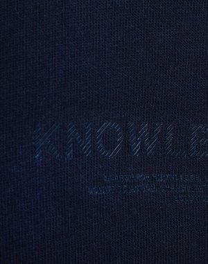 Knowledge Cotton - Fleece Hood Sweat