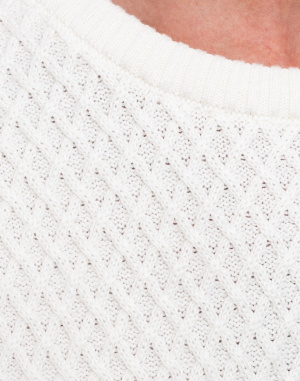 Knowledge Cotton - Small Diamond Knit