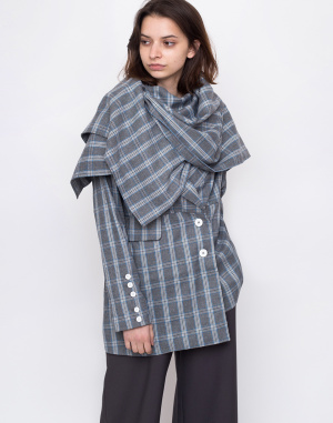 House of Sunny - Heritage Scarf Tailored Jacket