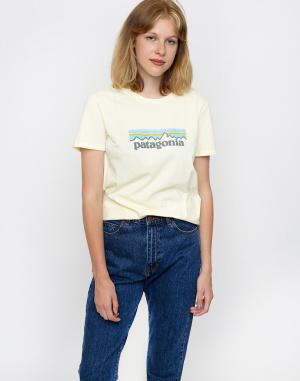 Tričko - Patagonia - Pastel P-6 Logo Organic Crew T-Shirt