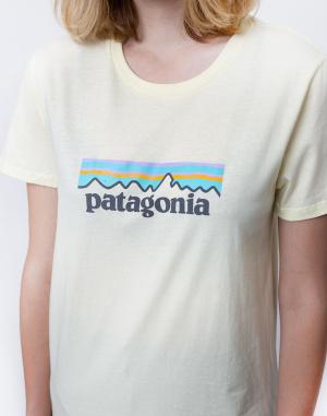 Tričko Patagonia Pastel P-6 Logo Organic Crew T-Shirt