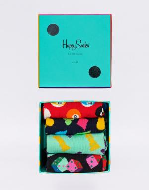 Ponožky Happy Socks Game Night Gift Box