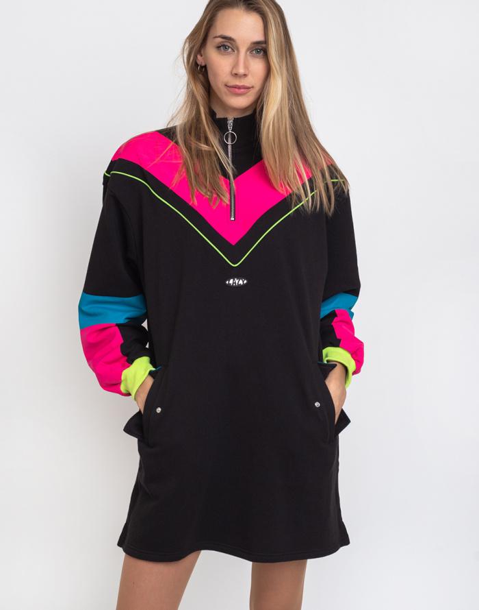 Šaty Lazy Oaf Game Face Sweater Dress