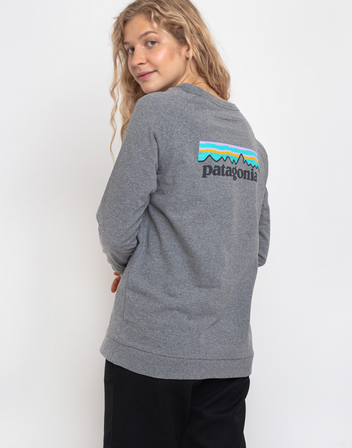 Tričko Patagonia L/S Pastel P-6 Logo Responsibili-Tee
