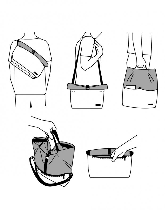 Messenger bag - Freitag - F640 Rollin