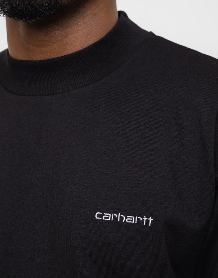Tričko Carhartt WIP Mockneck Script Embro T-S